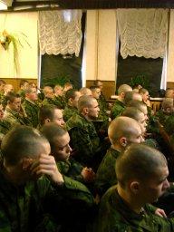 Концерт в воинской части 063