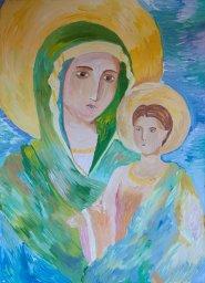 «Пресвятая Богородица» Тараскина Ирина, 13 лет, 1 место