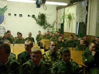 Концерт в воинской части 024