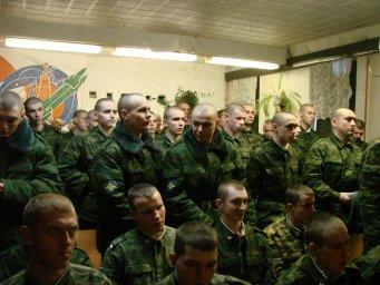 Концерт в воинской части 106
