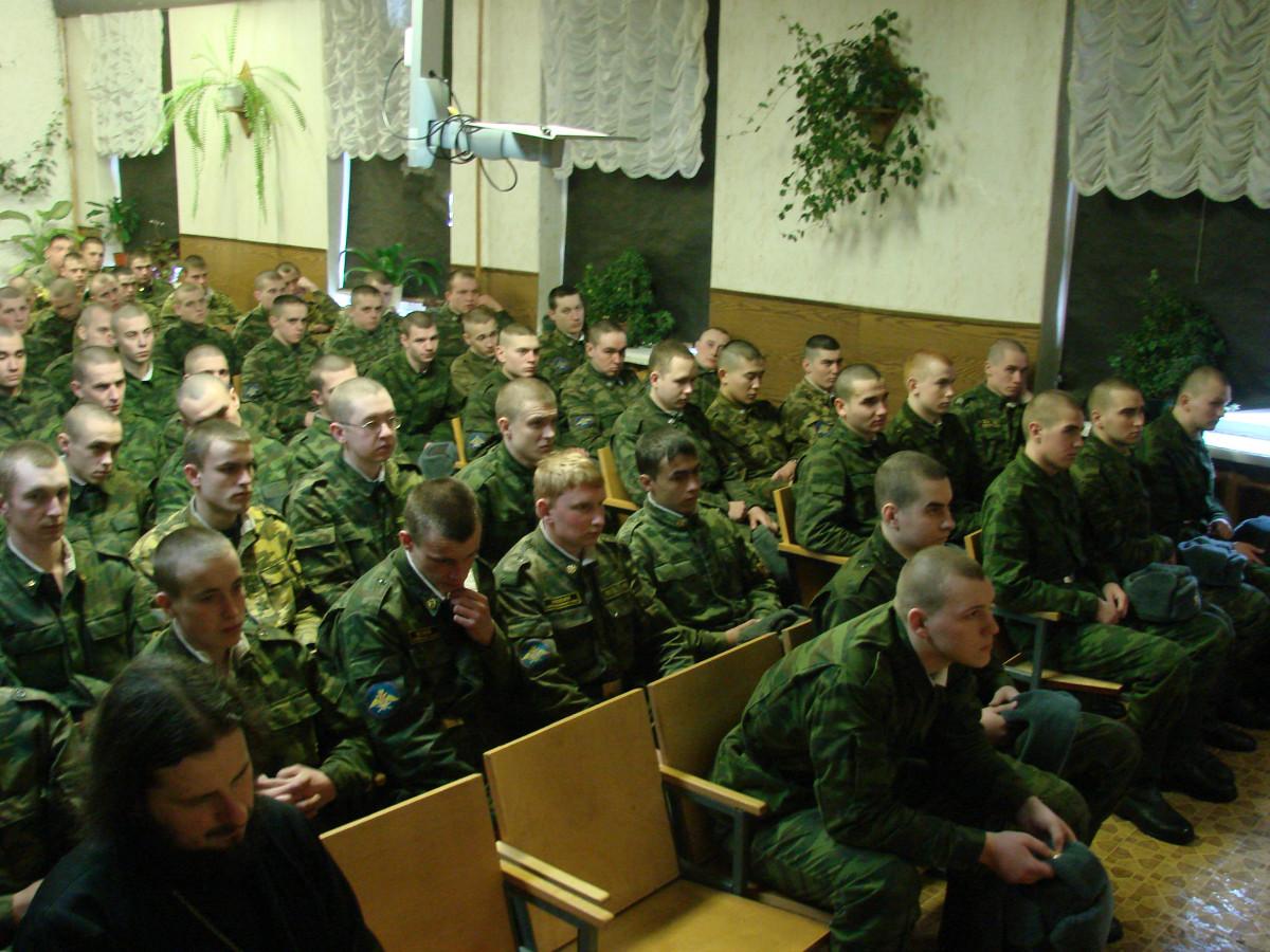 Концерт в воинской части 038