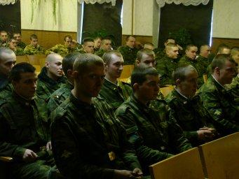Концерт в воинской части 028