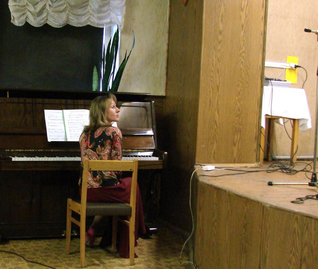 Концерт в воинской части 076