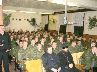 Концерт в воинской части 046