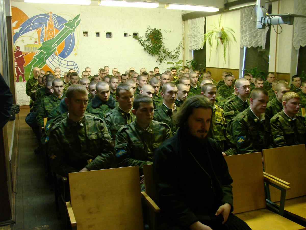 Концерт в воинской части 036