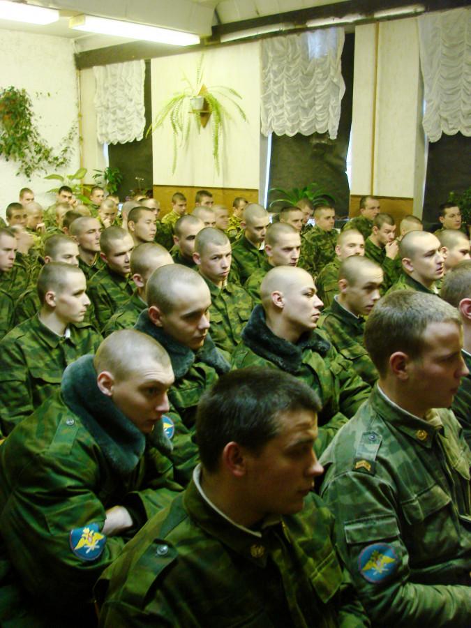 Концерт в воинской части 068