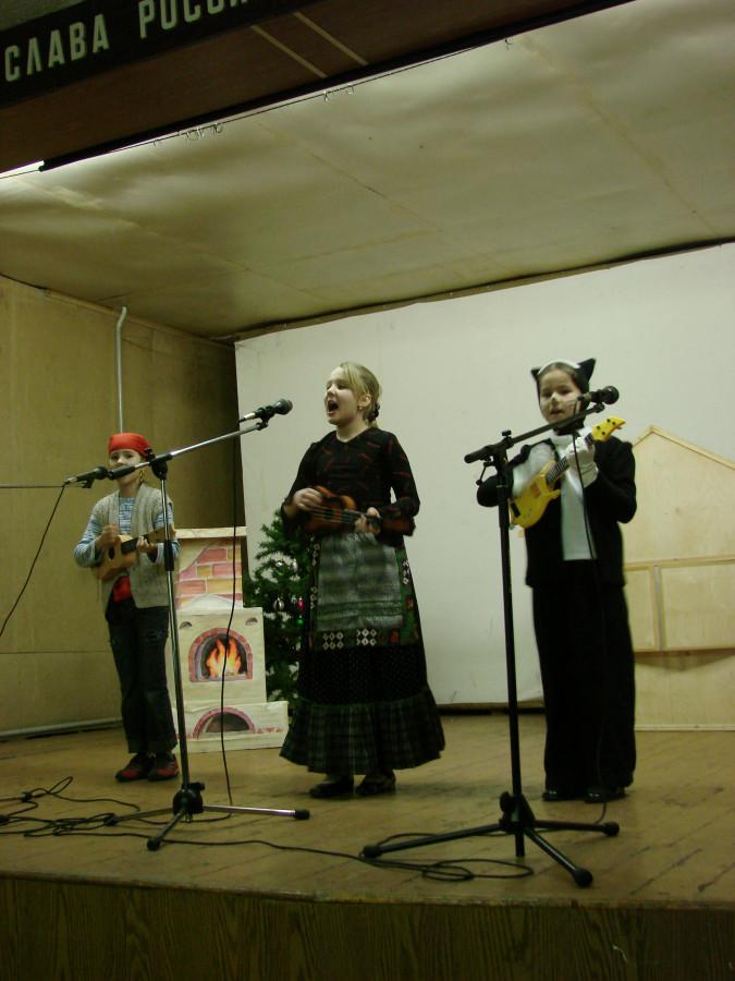 Концерт в воинской части 048