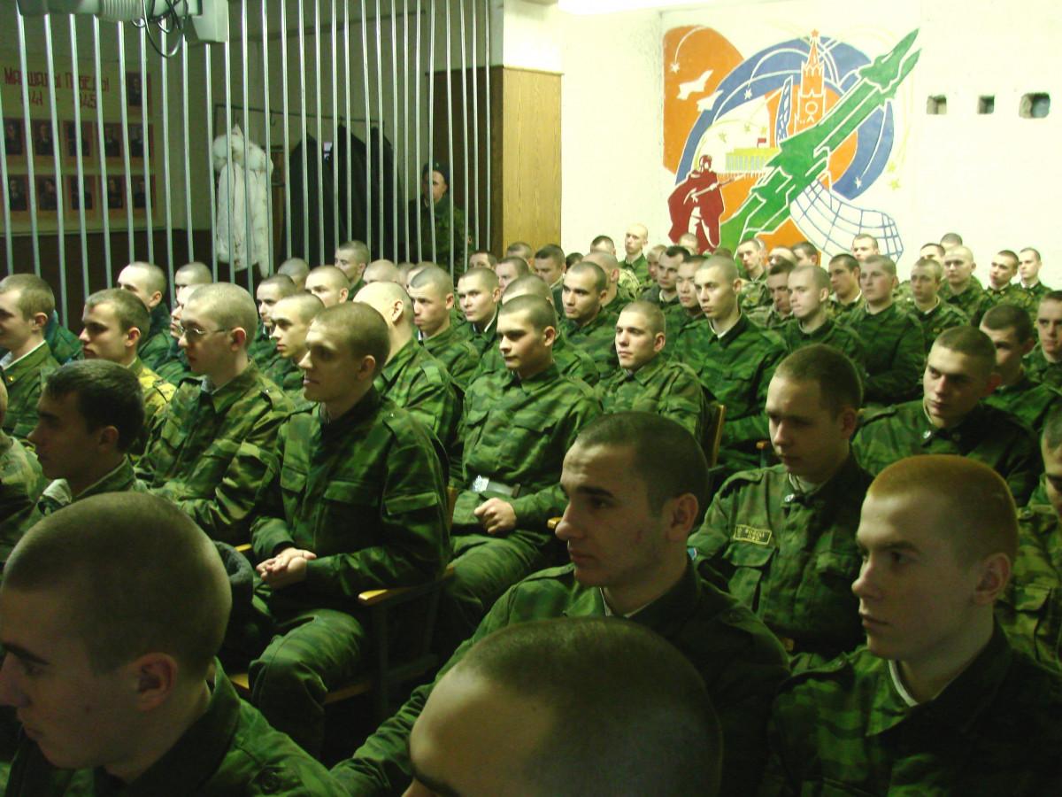 Концерт в воинской части 098