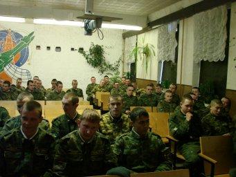 Концерт в воинской части 023
