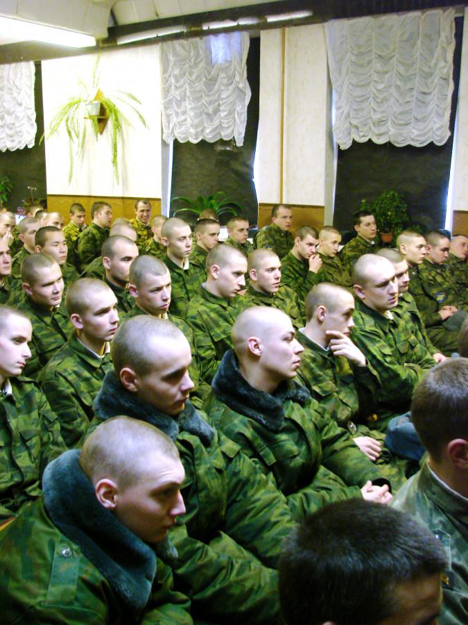 Концерт в воинской части 072