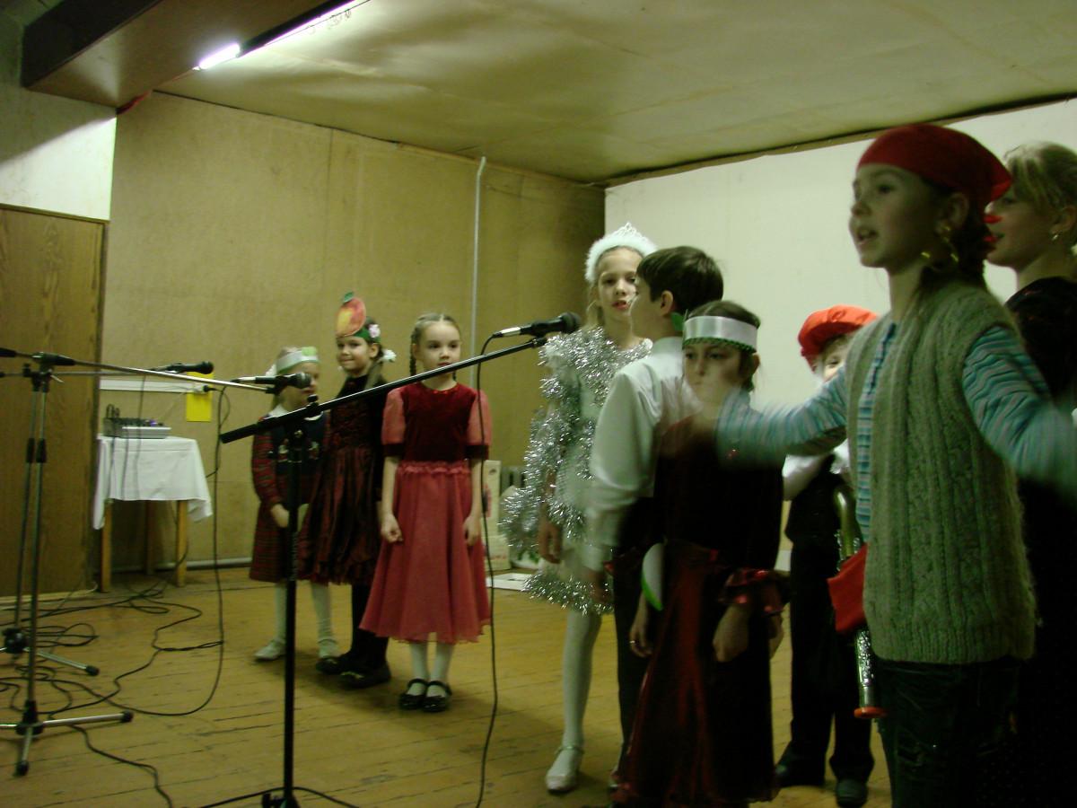 Концерт в воинской части 082