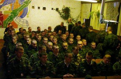 Концерт в воинской части 030