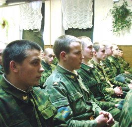 Концерт в воинской части 069