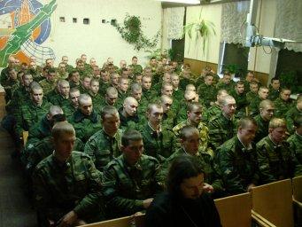 Концерт в воинской части 037